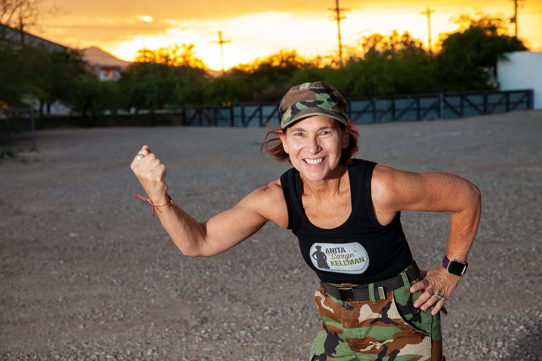 Anita Hellman, Beat Cancer Boot Camp